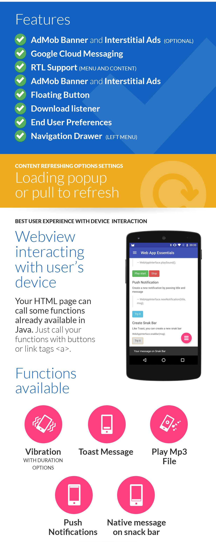 Web App + Push Web Panel - 2